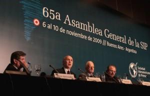 Sociedad Interamericana de Prensa, Buenos Aires, 9/11/2009
